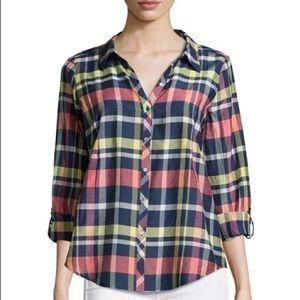 Joie plaid Katrine shirt